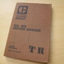 CAT Caterpillar 120 Motor Grader Parts Manual Book 13U Series catalog spare list