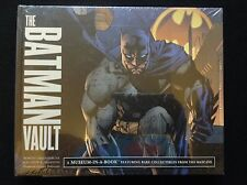 THE BATMAN VAULT DC COMICS Museum In A Book BATCAVE Collectibles NEW SHRINKWRAPD