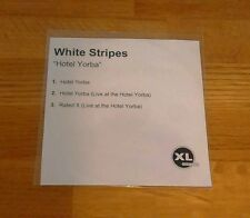 The White Stripes Hotel Yorba UK Promo CDr XL Recordings Indie Rock Jack Meg