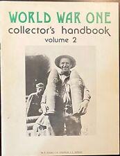 """World War One Collector's Handbook"" Vol. 2, 1979 1st Edition"