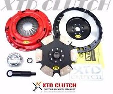 XTD STAGE 4 CLUTCH & RACE FLYWHEEL KIT 88-91 CIVIC CRX SiR EF8 EF9 B16A (1700)