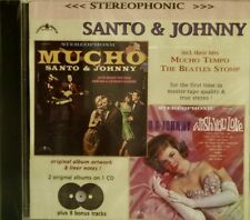SANTO & JOHNNY 'Wish You Love / Mucho '-2 on 1-32 Cuts