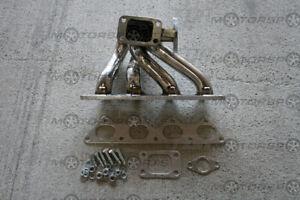 T3 Stainless Turbo Manifold for 90-99 Eclipse/Talon/Laser 4G63 35MM/38MM DSM