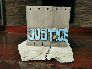 Banksy Walled Off Hotel big wall section sculpture Justice 2017 EXTREMELY RARE