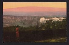 c1954 Nani Li'i view Kilauea & Mauna Loa Big Island Hawaii Nat.Park postcard