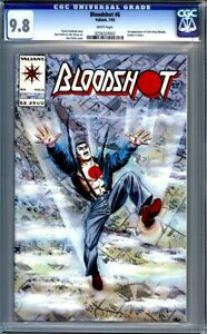 Bloodshot #6  1st Appearance of Ninjak  Valiant Comics   1st Print CGC 9.8