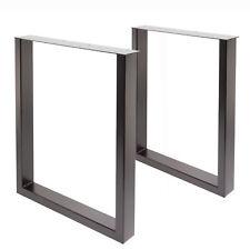 Tischgestell Tischbein U-Gestell Esstisch Schreibtisch Tisch Möbel Loft Stahl B
