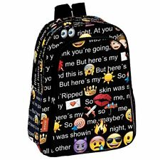 Emoji Talk - mochila infantil 29x37x11cm