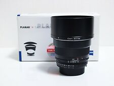 Zeiss ZEISS Planar T 85mm f/1.4 ZF.2 MF Lens For Nikon  Excelent+++