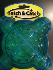 Fetch & Catch Bouncing Dog Cat Durable Treat Dispenser Bounces FREE SHIPPING