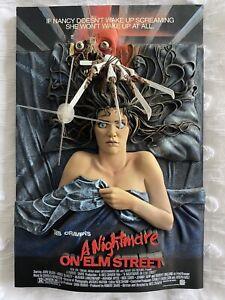 *RARE* A Nightmare On Elm Street 3D Movie Poster 2007 McFarlane Pop Culture Toys