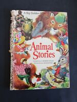 ANIMAL STORIES - A BIG GOLDEN BOOK FROM 1944