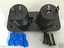 Doppia USB Presa Accendisigari Auto Splitter Adattatore Caricabatteria 2 Pa e Dc