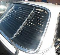 Heckjalousie für Mercedes w114 w115  Limousine schwarz, neu