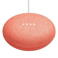 Google Home Mini Assistant - Coral (GA00217-US)- NEW AND SEALED IN BOX!