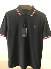 Bnwt Hommes Authentique Fred Perry M1200 471 Polo Shirt. Classic Fit. Medium