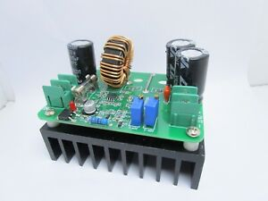 Alimentatore step up 600W 10A dc-dc 11V-60V con uscita regolabile 12V-80V ID-387