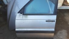 RANGE ROVER 1995 - 2002 P38 PASSENGERS N/S FRONT DOOR WITH GLASS IN SILVER 642