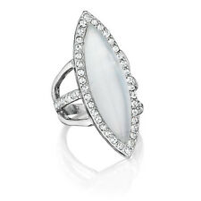 Chloe and Isabel Meridian Navette Ring  - R071  Size 8 - NEW