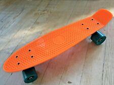 "22"" Tiger Penny Style Mini Cruiser Skateboard Fluorescent Orange"