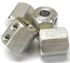 08065 M12 12mm Unidad de aleación de aluminio Hex Hexagonal X 4 de alta velocidad de las actualizaciones de piezas
