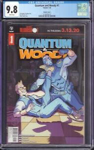Quantum and Woody #1 (Valiant, 2020) CGC 9.8 Variant Cover C