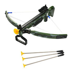 Crossbow Toys Bow Suction Arrows Set Children Kids Outdoor Archery Game Gift