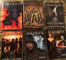 6 Books by Margaret Peterson Haddix