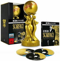 SCARFACE The World is Yours - LIMITED EDITION 2 BLU-RAY + 4K Ultra HD BR (Nuovo)