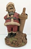 Vintage Tom Clark Gnome Figurine 'Santa Baby' #5096 Retired - Signed