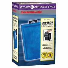Marineland Rite-Size E Filter Cartridge Refills Fits Emperor 280 400 Filters New