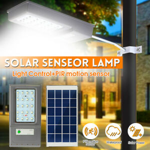 10W LED Solar Road Street Light PIR Motion Sensor Outdoor Path Wall     6