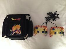 Dragon Ball Z Nylon Kame Case & 2x Goku Cell DBZ Controllers for GameCube Nuby