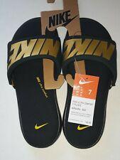 **** Nike Ultra Comfort 3 Men's Size 7 Slide Sandals Green Gold AR4494-302 Thong