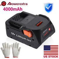 18V 4.0ah 18 Volt Hyper Lithium-Ion Battery for RIDGID R840087 R840085 R840083