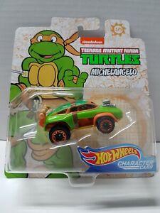 Hot Wheels Michelangelo Teenage Mutant Ninja Turtles Brand New