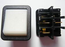 5 x Wippschalter Schalter 1xEINAUS 250V 16A Kontroll Leuchte Anzeige#19S01#