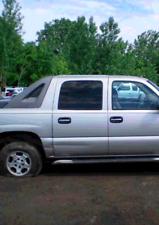 2001 02 03 04 05 06 07 Chevy Silverado 1500/2500/3500 Driver Rear Door Glass OEM