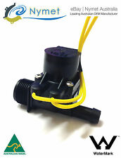 "Micro Irrigation Solenoid Valve 3/4""BSP in - 13mm Barb out 24VAC 20LPM"