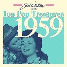 VARIOUS ARTISTS - JOEL WHITBURN PRESENTS: TOP POP TREASURES 1959 (NEW CD)