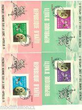 1969-REPUBLIQUE D'HAITI//APOLLON 11/4 BLOCS-FEUILLETS//TIMBRES..PA.28/31