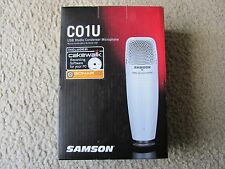 Brand New Samson C01U USB Studio Condenser Professional Microphone