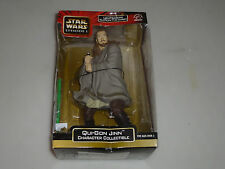 NEW IN BOX STAR WARS EPIISODE I QUI-GON JINN FIGURE APPLAUSE 10 IN COLLECTIBLE >