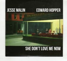 (HR317) Jesse Malin, Edward Hopper / She Don't Love Me Now - 2016 DJ CD