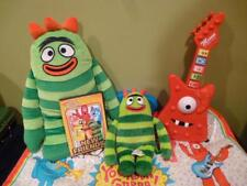 Yo Gabba BroBee Gab N Sing Muno Guitar DVD Lot Plush New Friends Dance Mat