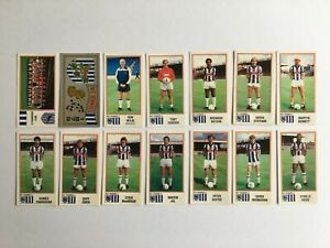 Panini Football 83 Stickers x14 (unstuck with backs/badge) West Brom