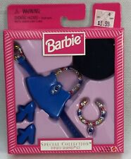 Barbie Special Collect Totally Charmed Set Belt Purse Hat Necklace Blue Shoes