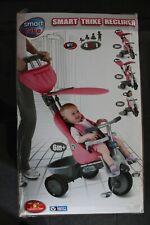 SmarTrike Dreirad NEU 4 in 1 Kinderdreirad Pink Fahrrad Baby Mädchen Kinderwagen