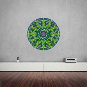 Geometric Sunshine Mandala Vinyl Wall Art Sticker for Home Decor / Interior D...
