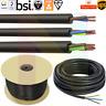 Black Round Flexible Cable Multi Core 3182Y 3183Y 3184Y 0.75-2.5mm Wire
